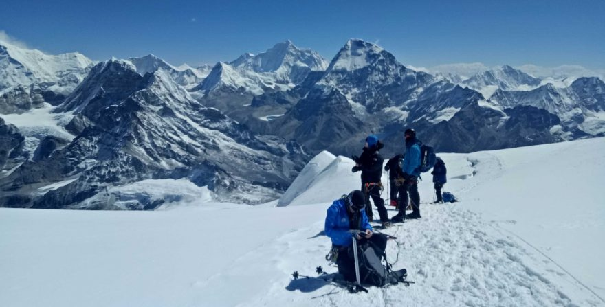 Manaslu Trek with Larkya Peak Climbing