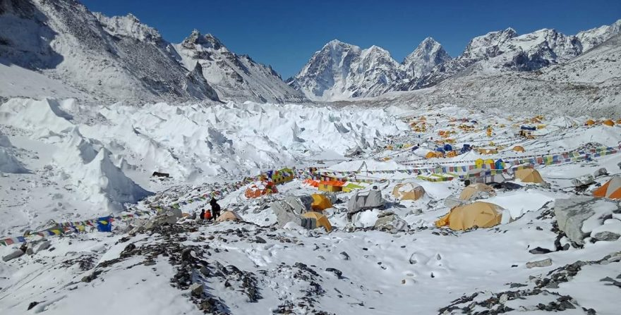 Everest Base Camp with Chola Pass Trek