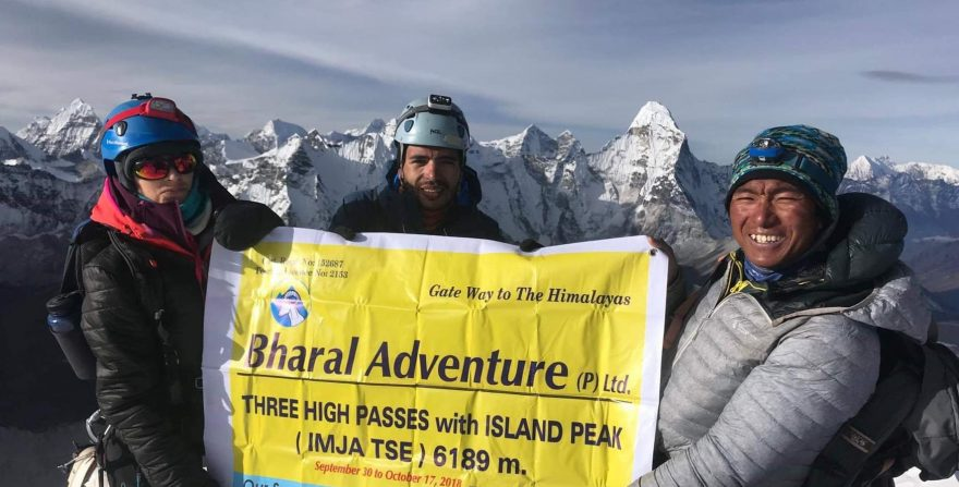 Island Peak Climbing with Everest Base Camp Trek