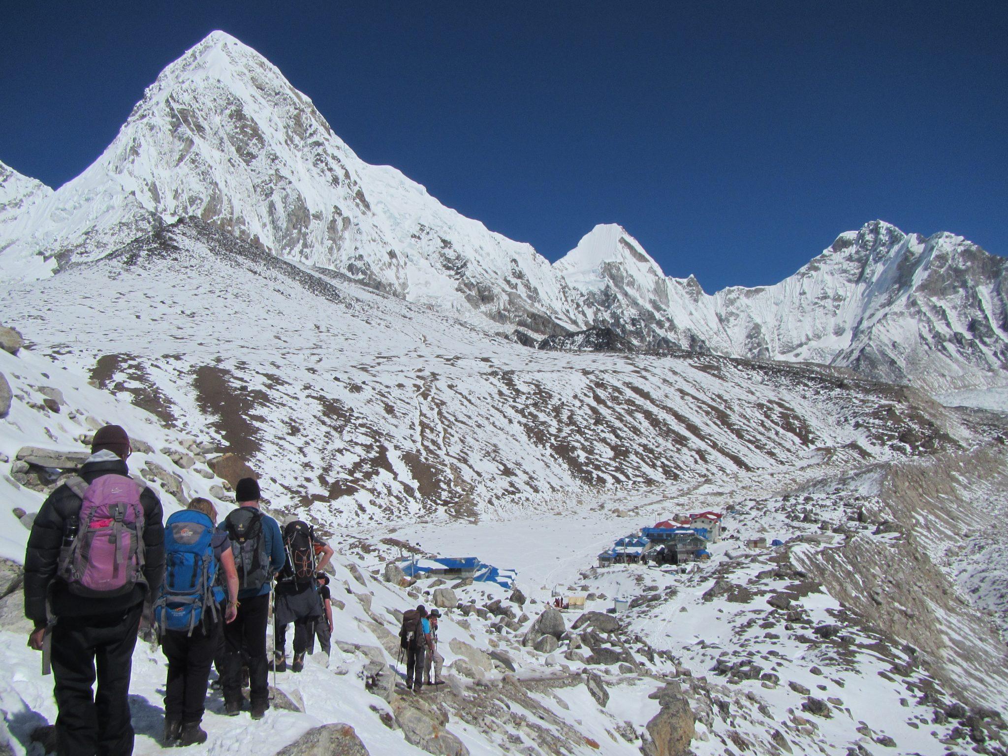 Daily Distances Traveled on the Everest Base Camp trek
