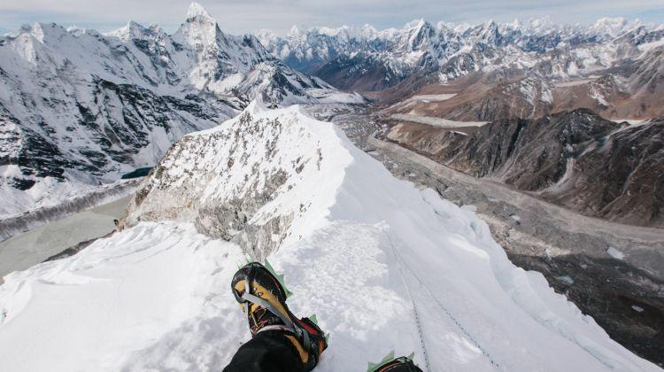 island Peak climbing..