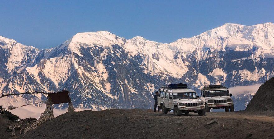 upper mustang trek by jeep