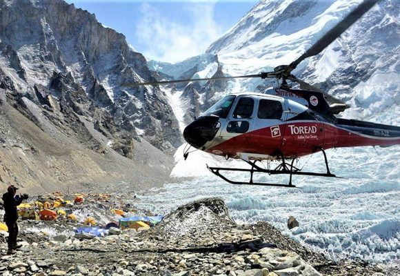 Everest Base Camp Heli Trek Cost Itinerary and Permits 2019