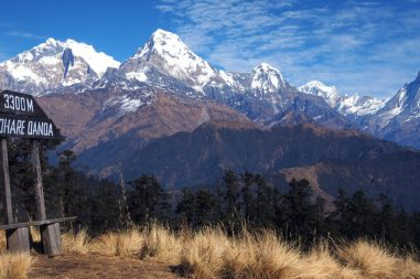 Mohare danda mountain view