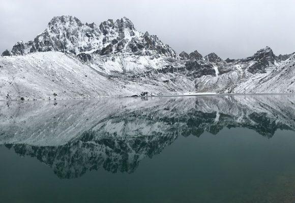 Gokyo Lake in Winter
